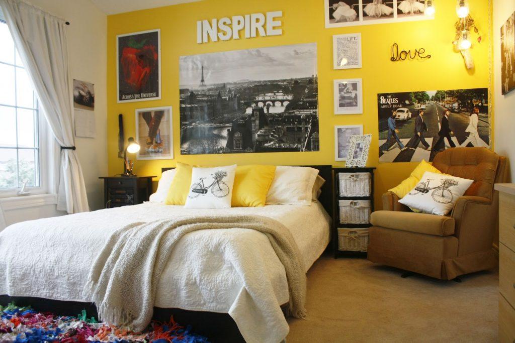 Комната для девочки в американском стиле