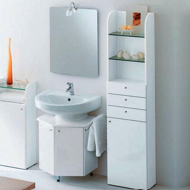 Skinny bathroom cabinet