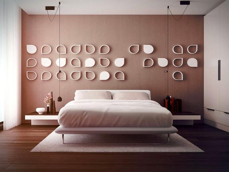 Светлые тона в интерьере спальни