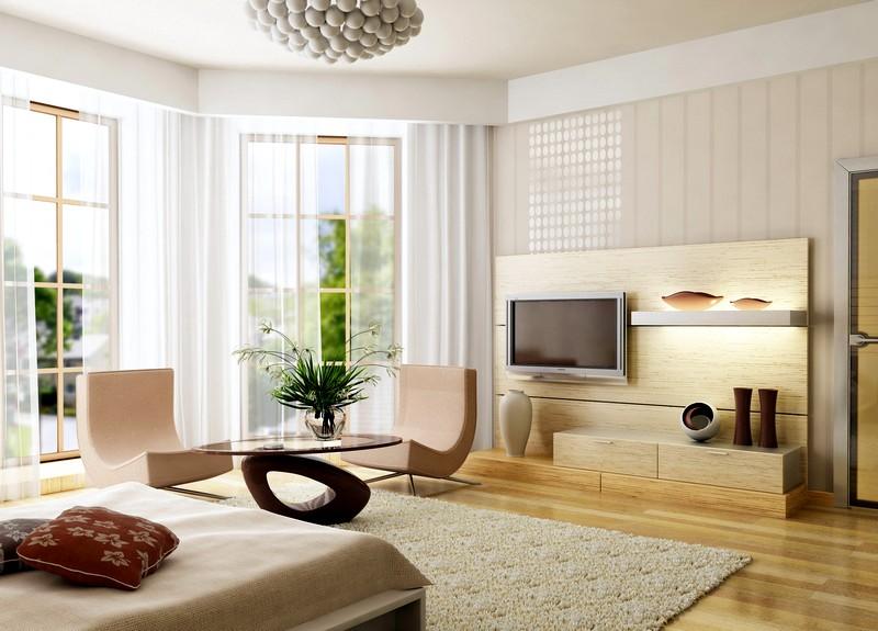 Стильный дизайн для интерьера спальни