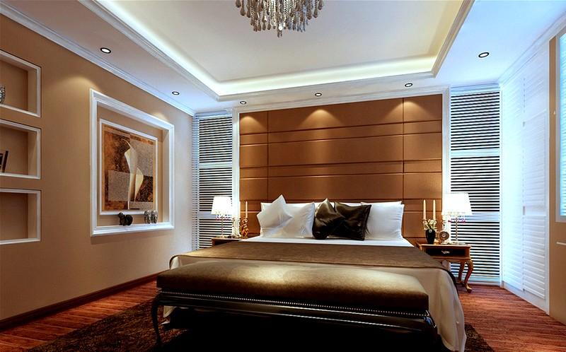 Шикарный дизайн спальни