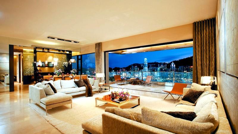Идеи для дизайна гостиной в светлых тонах