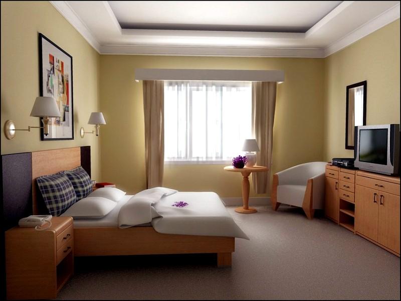 простой дизайн для спальни