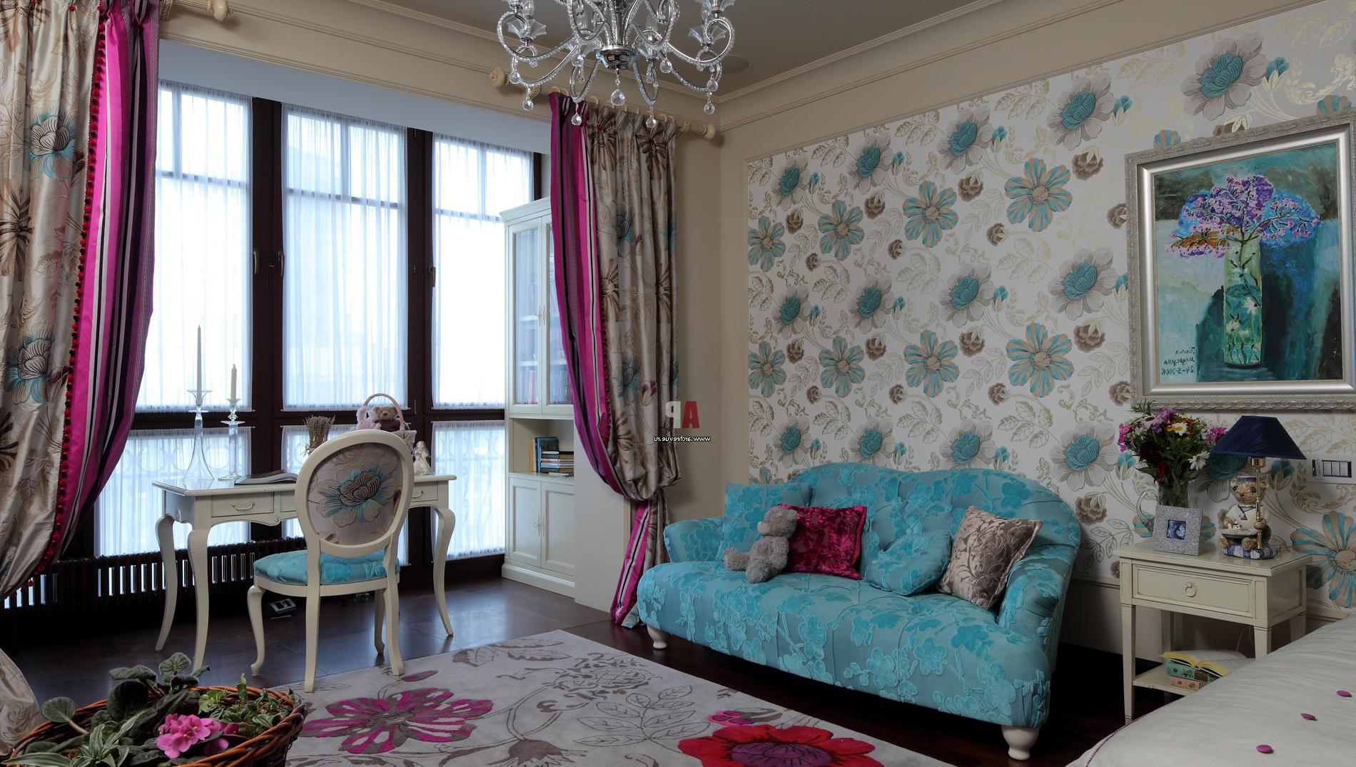 Готический стиль комнаты для девочки
