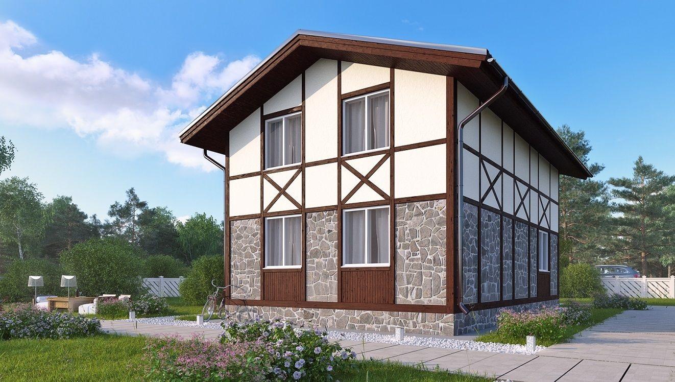 Как сделать дом из газобетона фото 170