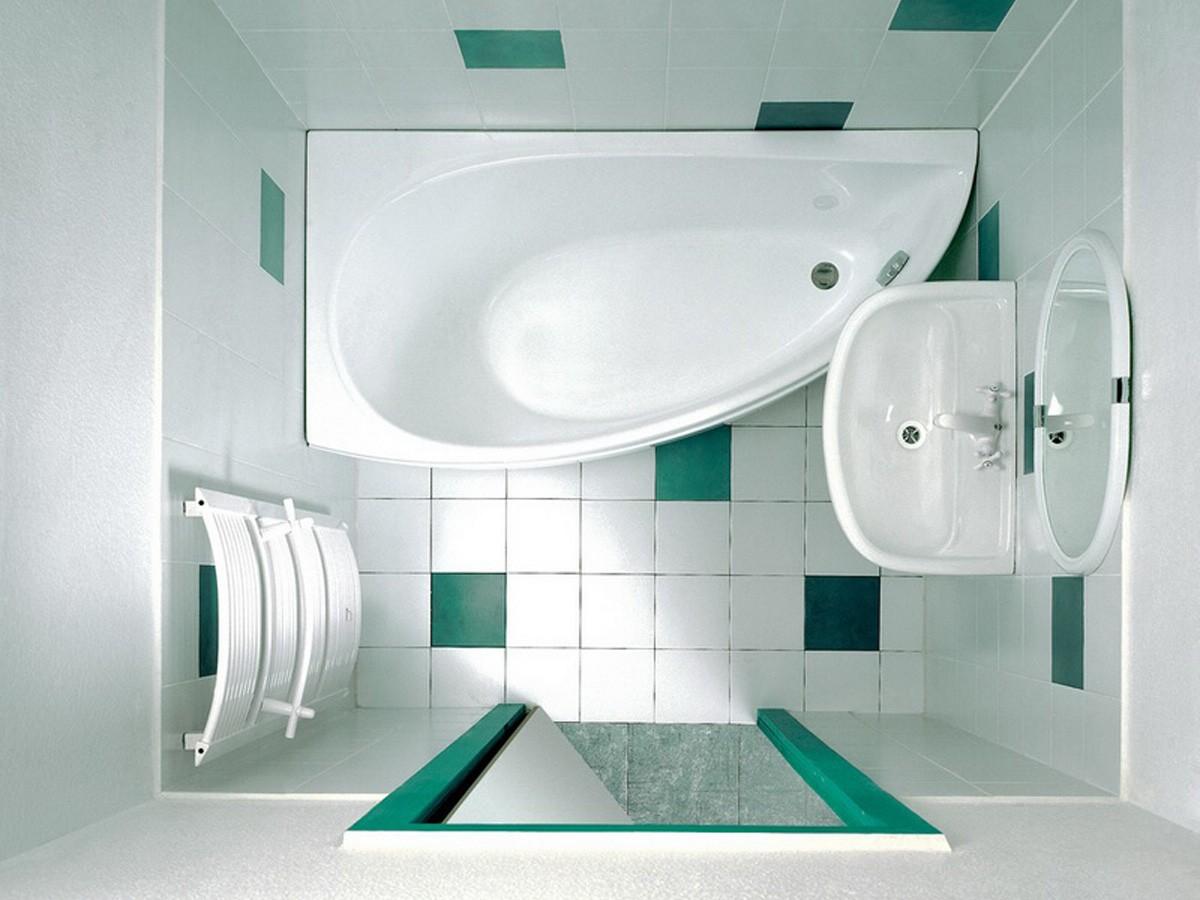 Дизайн ванной комнаты в светлых тонах визуально увеличивает пространство