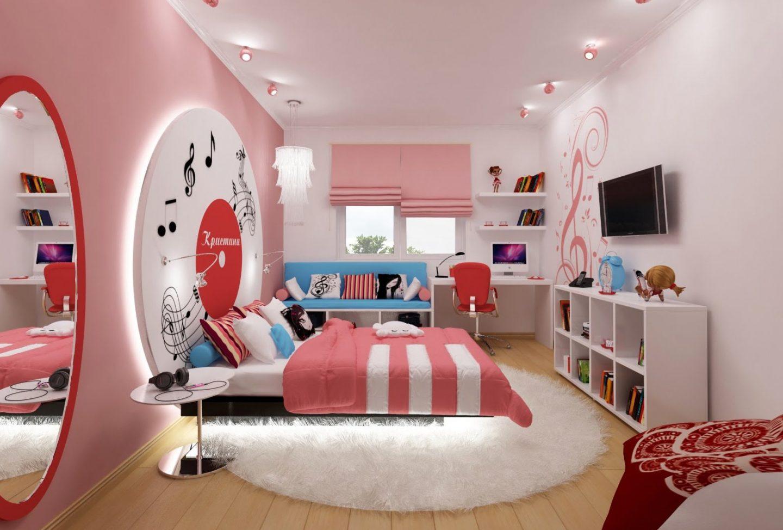 Идеи по созданию дизайна комнаты для девушки в современном стиле