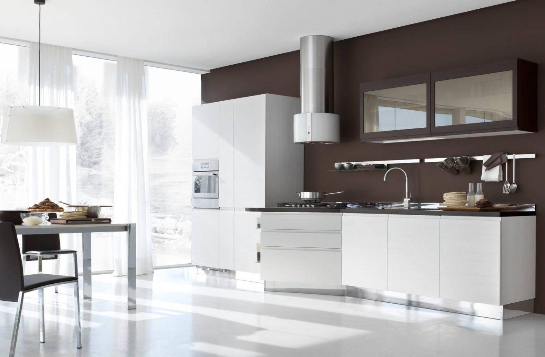 Интерьер кухни в белом цвете: реальные фото