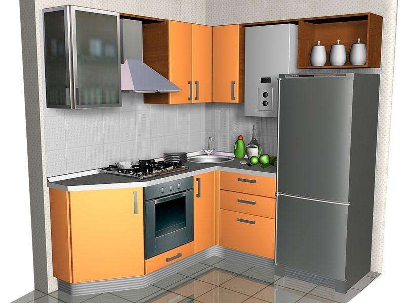 Кухня небольших размеров
