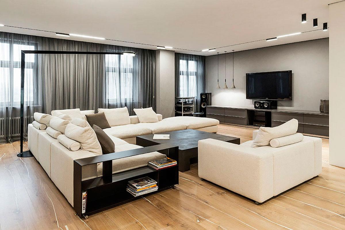 Фото и советы по дизайну квартиры в современном стиле