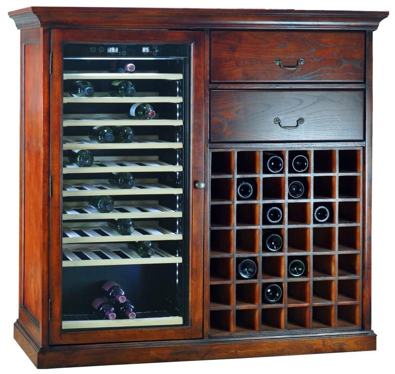 Монотемпературный винный шкаф-холодильник