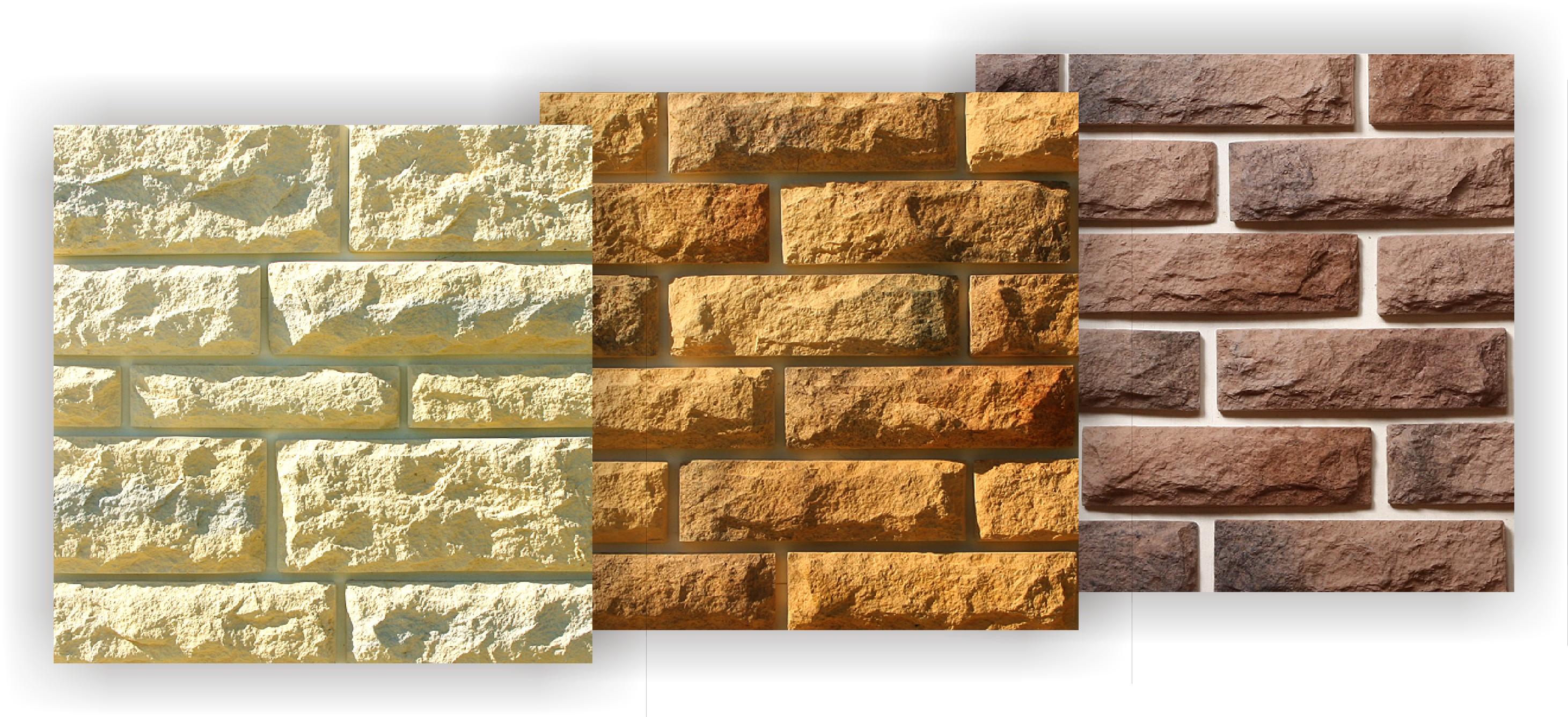 Разнообразие декоративных панелей под камень