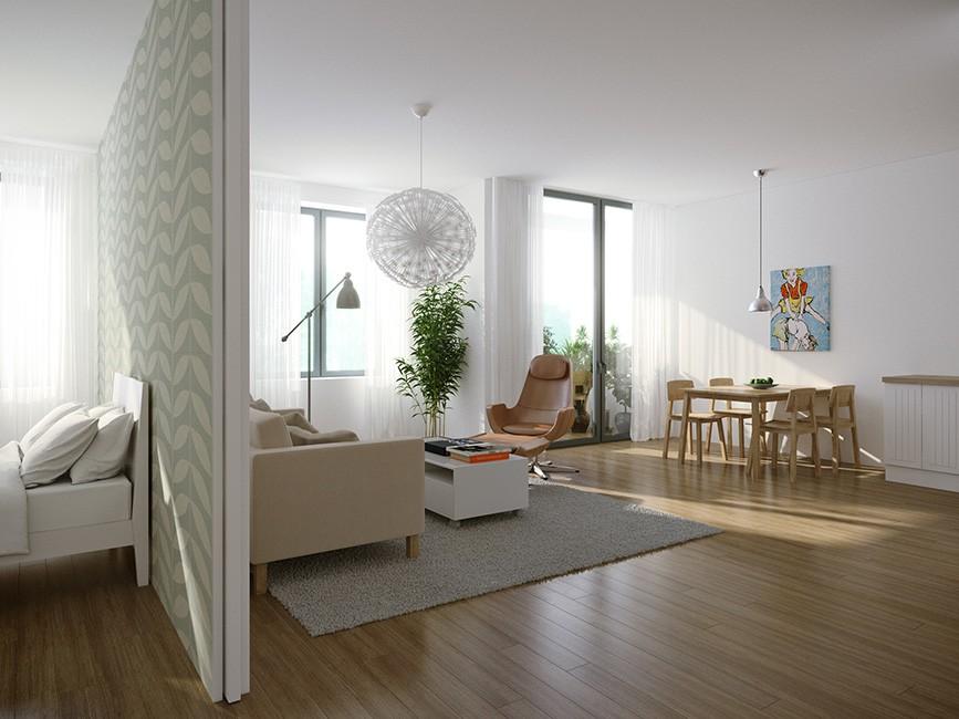 Перегородка между комнатами в квартире в хрущевке