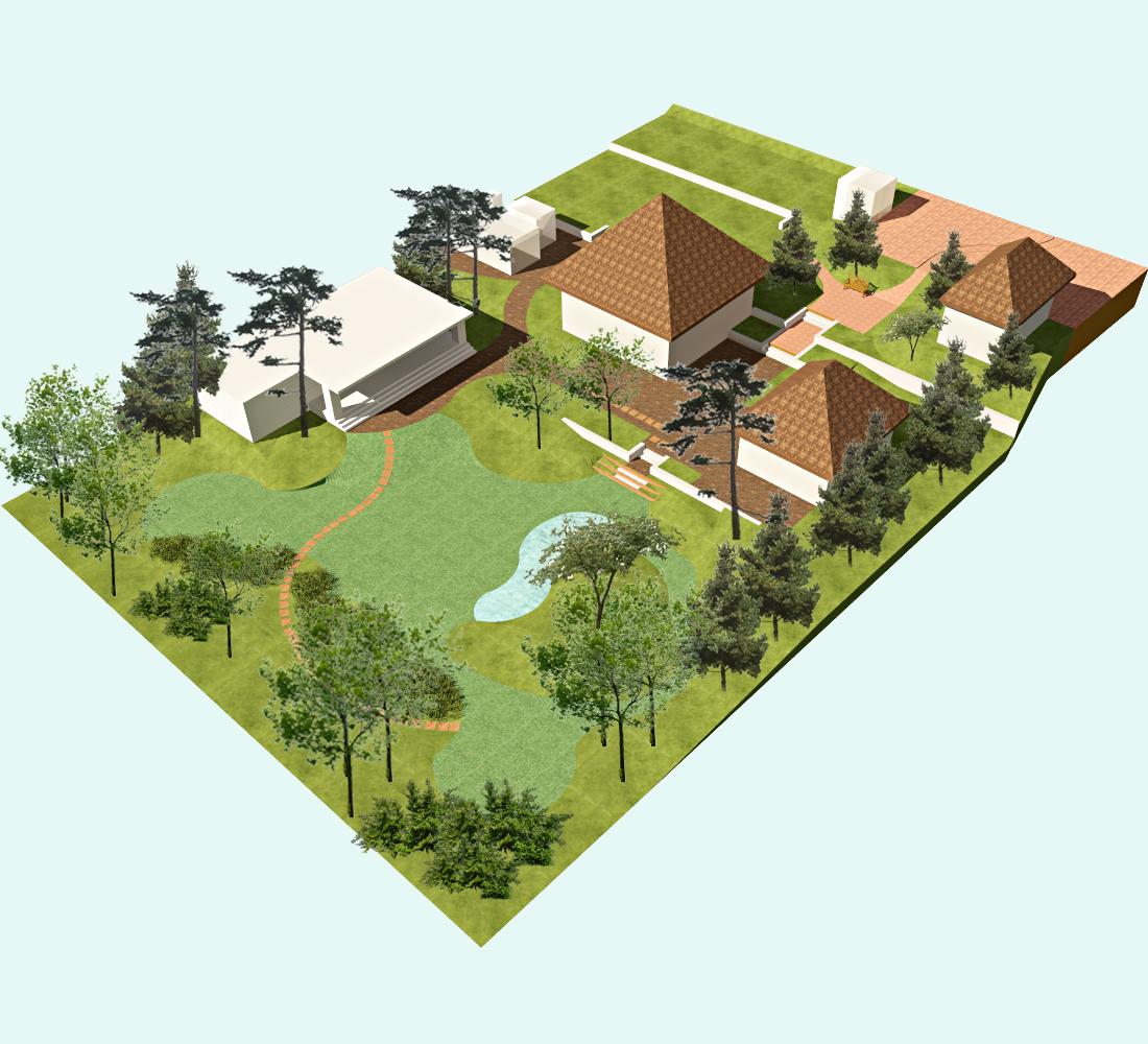 Рациональная планировка дачного участка площадью 12 соток