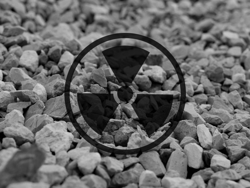 Радиоактивность щебня