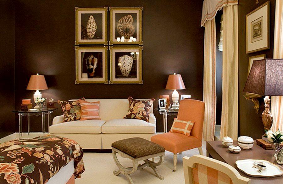 Картины на стене в интерьере квартиры