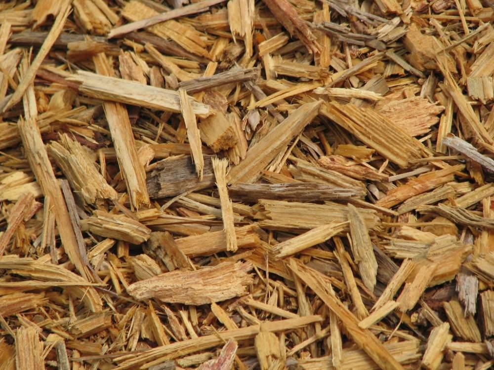 Деревянные опилки для изготовления декоративной щепы