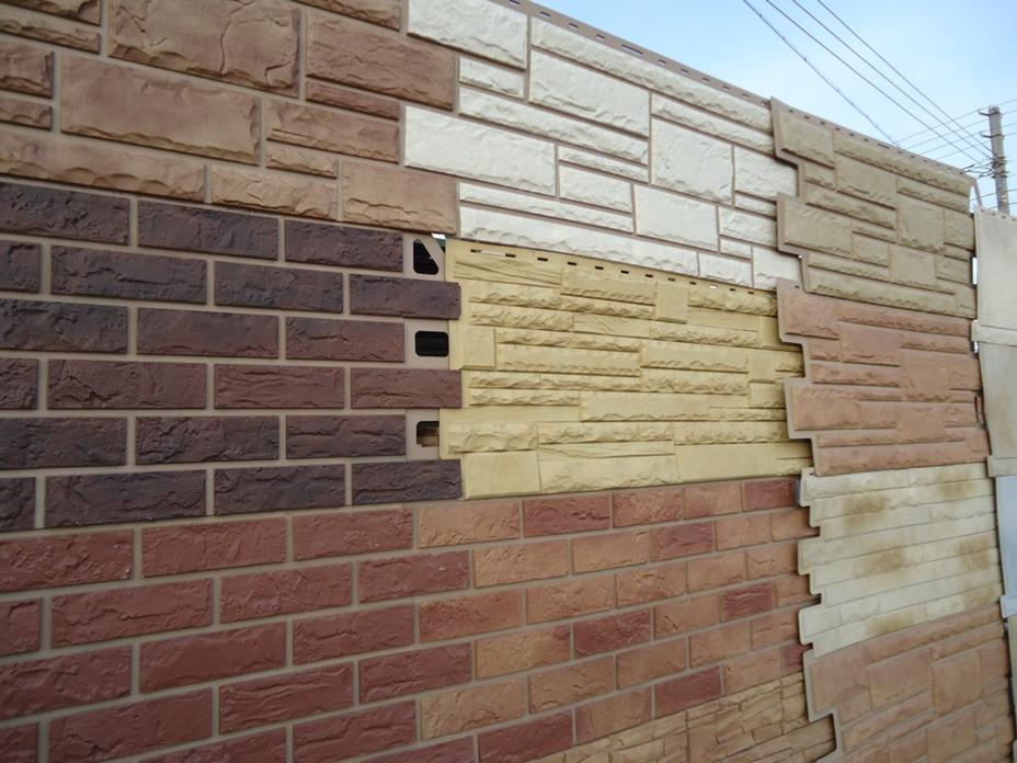 Декоративные панели для наружной отделки стен дома