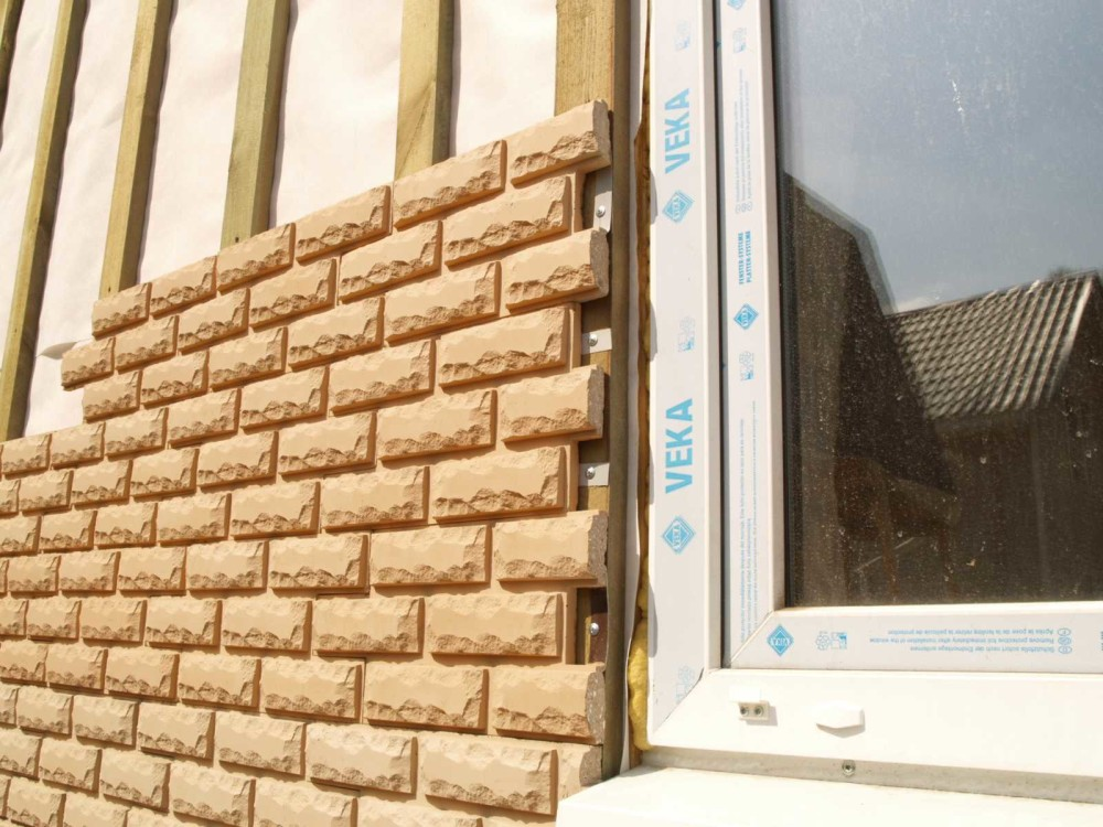 Облицовочные панели для отделки фасада дома