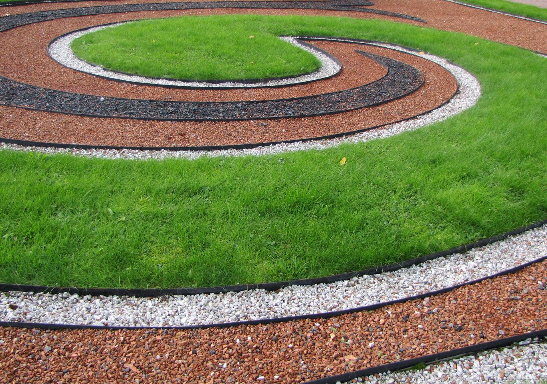 Декоративные элементы из щебня в ландшафтном дизайне