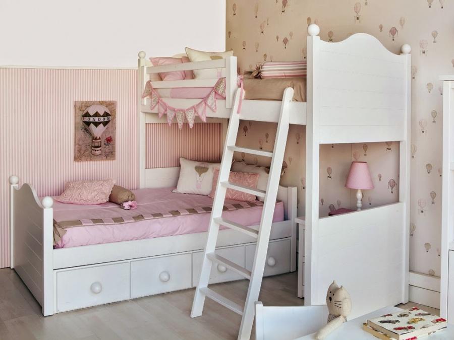 Уютная комната для двух девочек