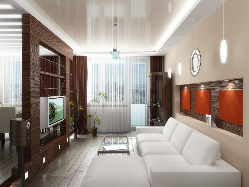 Натяжные потолки в двухкомнатной квартире в хрущевке