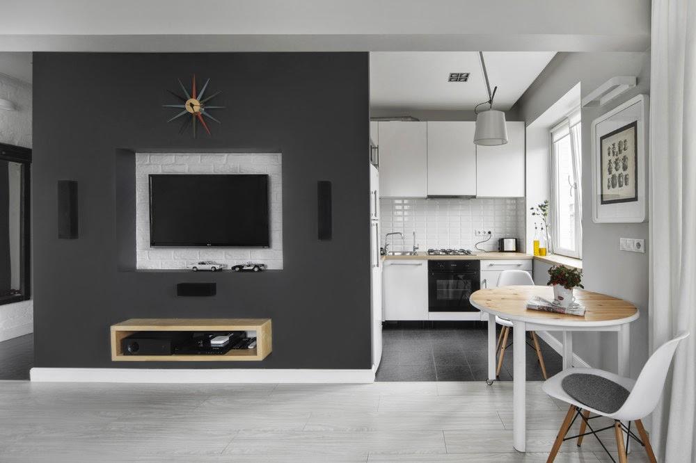 Светлые тона для увеличения пространства квартиры в хрущевке