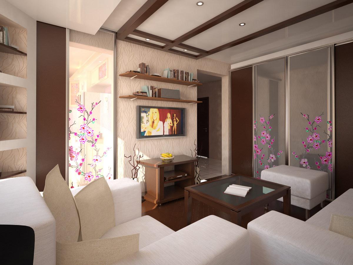 Правильный подбор мебели для гостиной в хрущевке