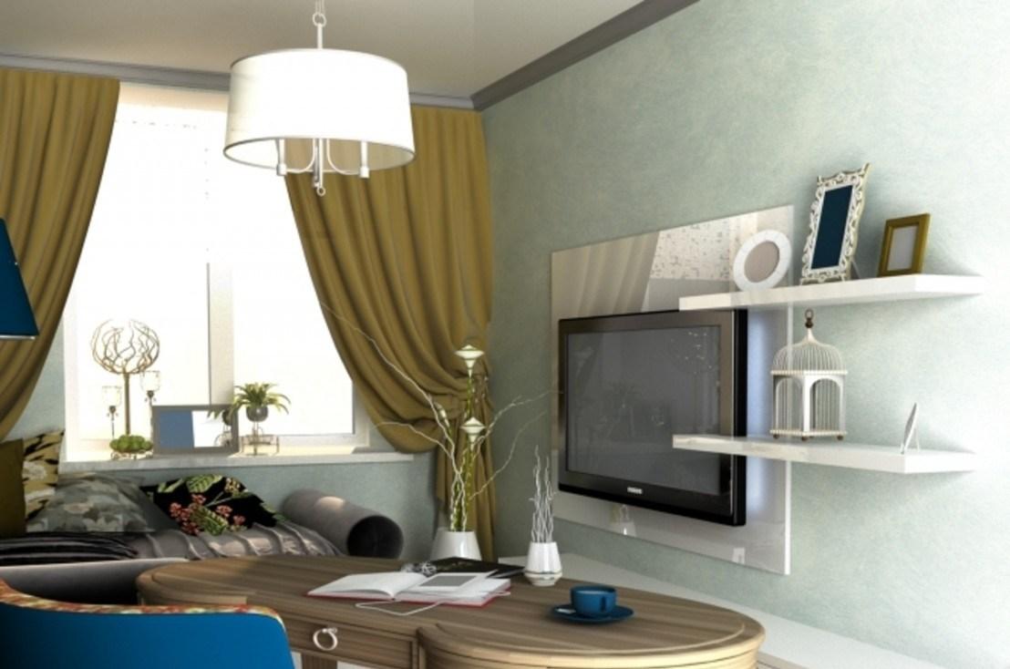 Маленькая квартира в современном стиле