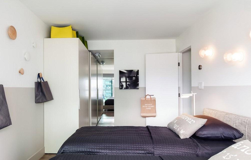 Маленькая спальня к современном стиле