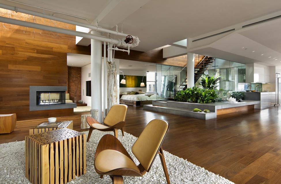 Использование натуральных материалов в интерьере квартиры