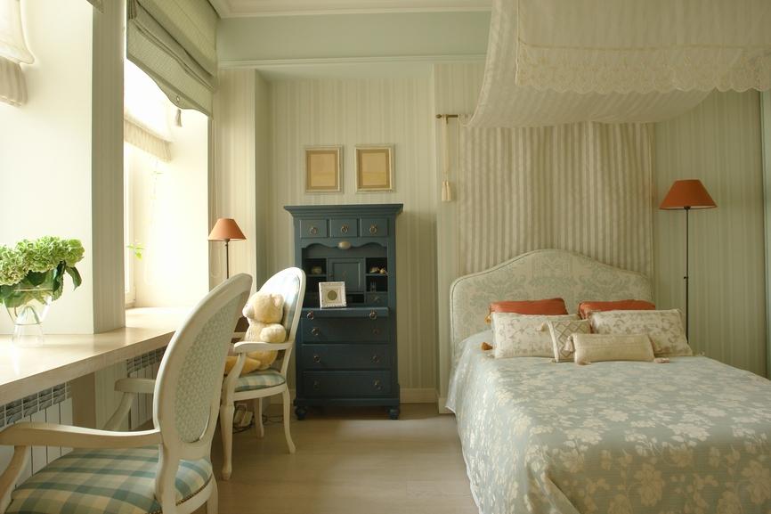 Дизайн спальни для девочки-подростка в стиле минимализм