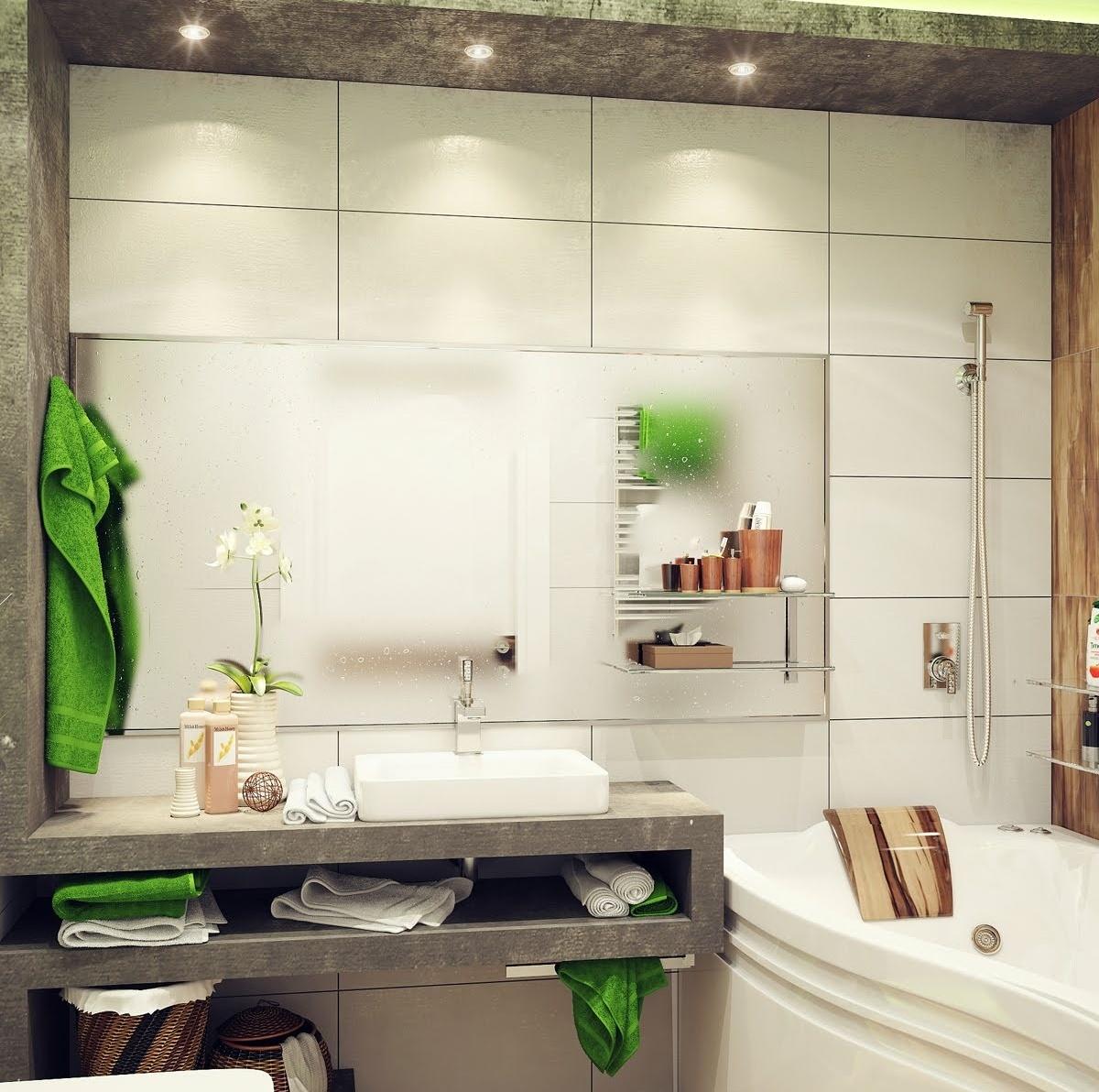 Стеллаж для мелочей необходим в маленькой ванной