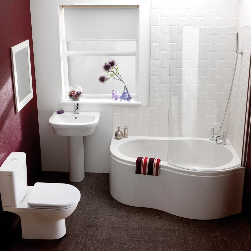 Для отделки стен и потолка в маленькой ванной комнате важно правильно подобрать цветовую палитру