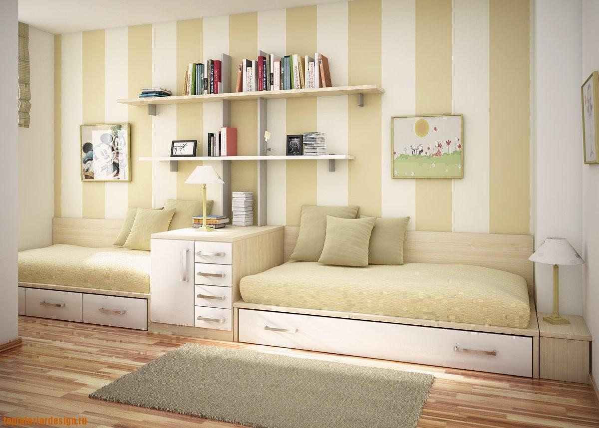 Как разработать дизайн детской комнаты для двух девочек