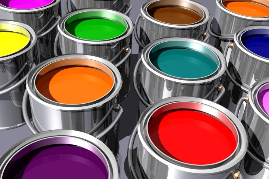 Для фасадных работ предлагаются стойкие краски винилового, акрилового, акрилово-силиконового и силиконового типа