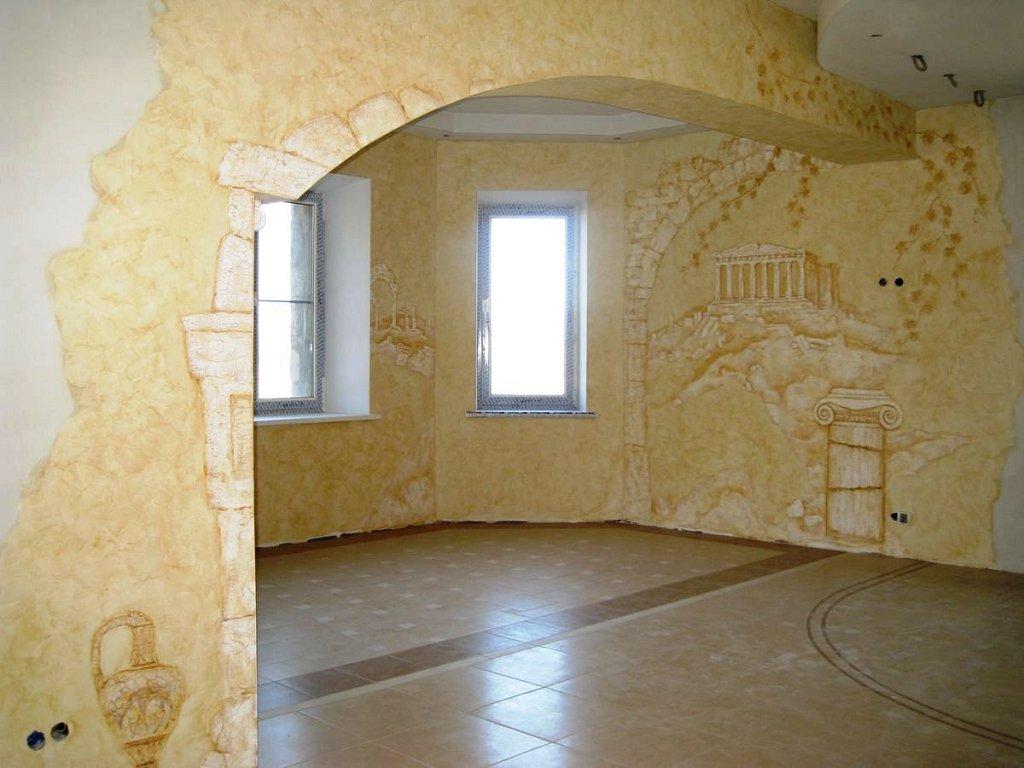 Внутренняя отделка стен своими руками 73