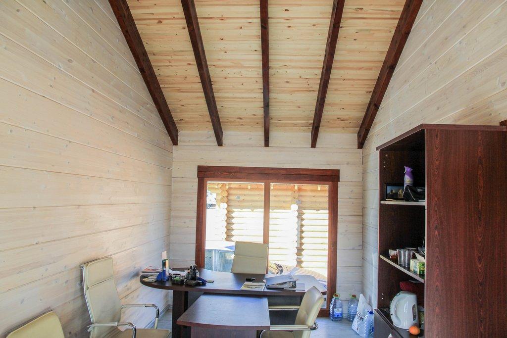 Обновление интерьера в доме из бруса
