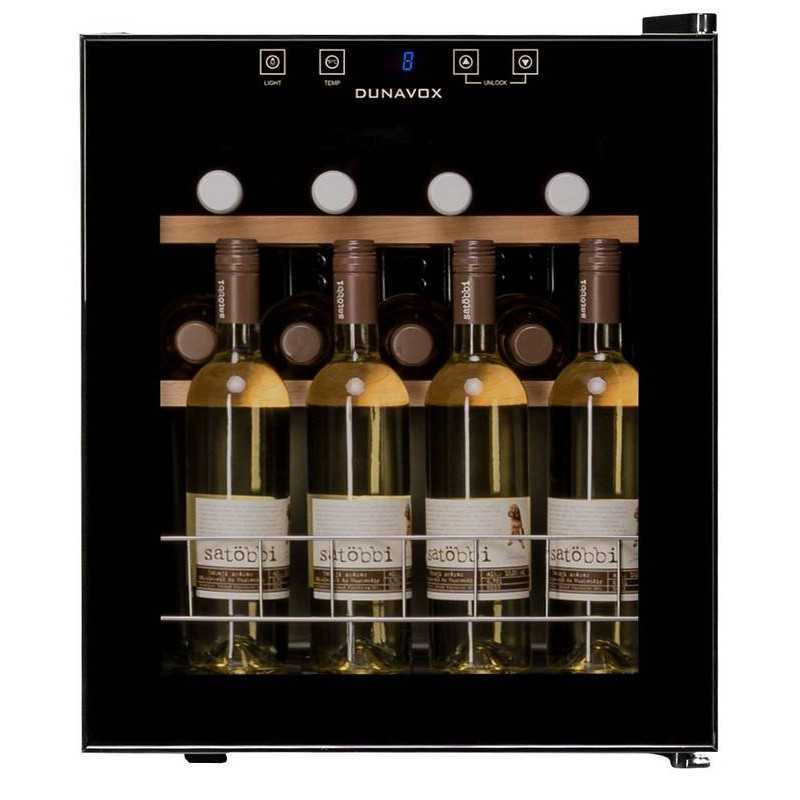Винный холодильник с прозрачными дверцами