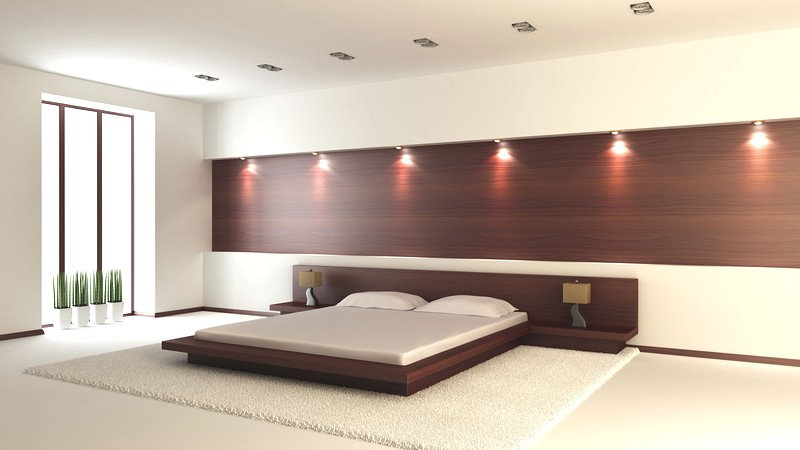 Вариант оформления спальни