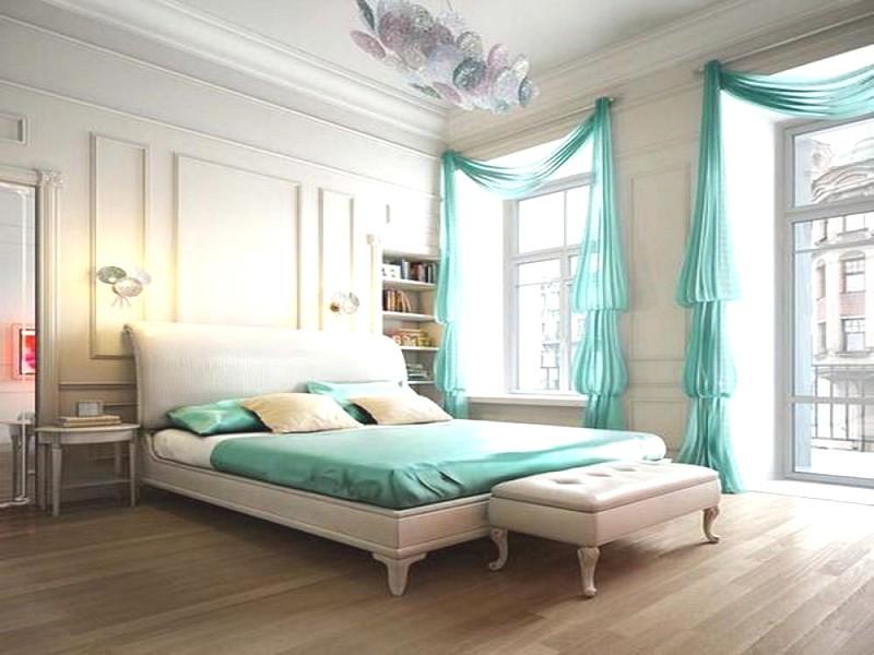 Замечательное решение для оформления спальни