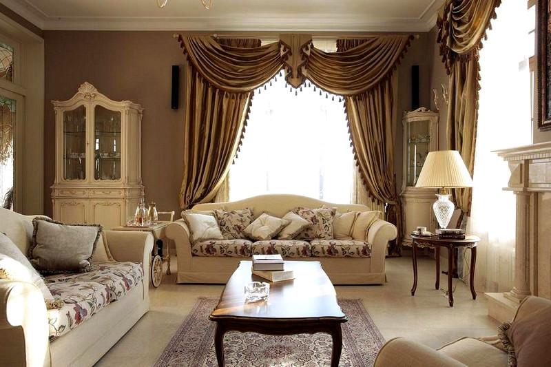 Цветовая гамма при оформлении квартиры в классическом стиле