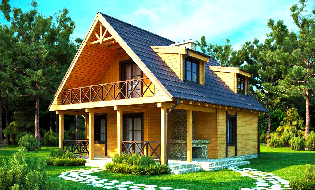 Оформление интерьера внутри дачного дома: фото и варианты