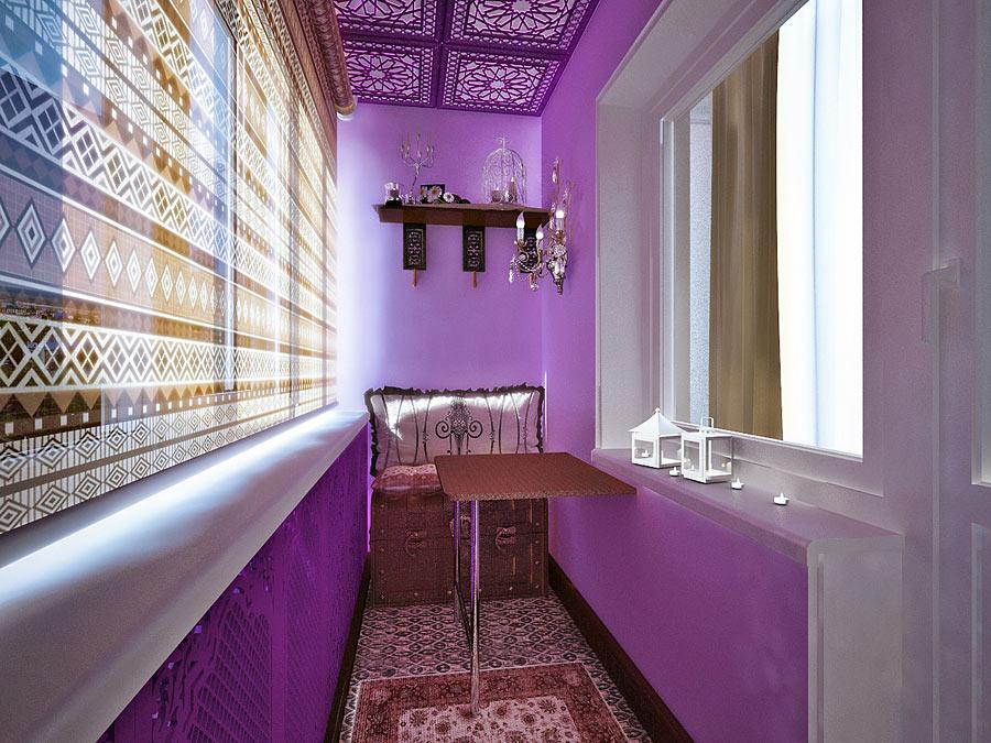 Интерьер балкона в квартире, идеи, советы по дизайну, фот....