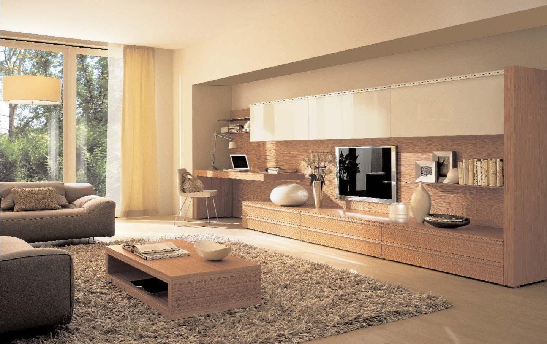Проведение ремонта гостиной в обычной квартире: фото