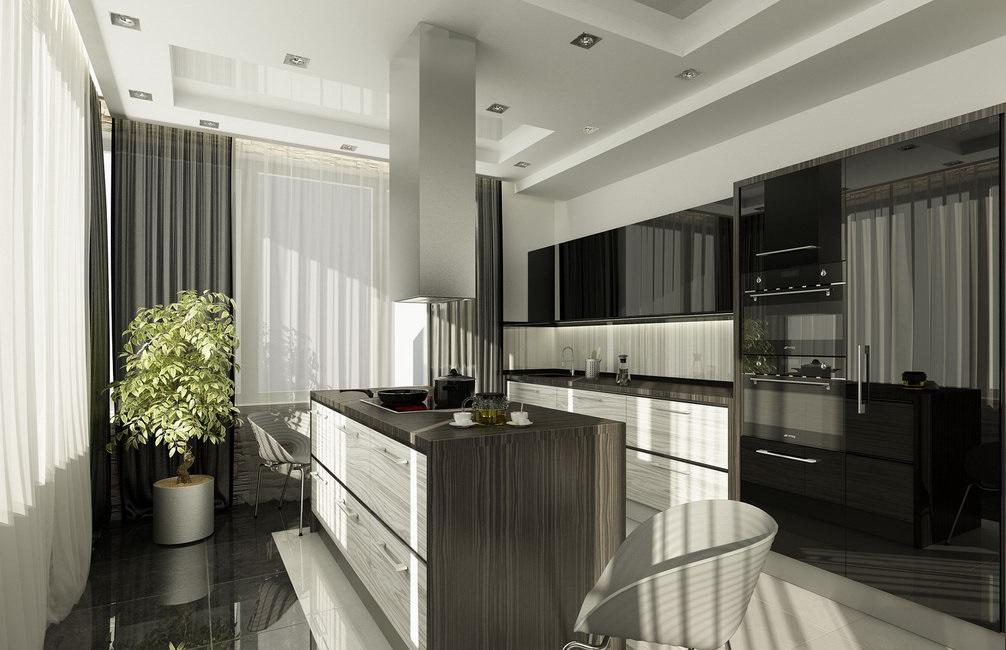 Идеи и фото дизайна интерьера кухни в современном стиле