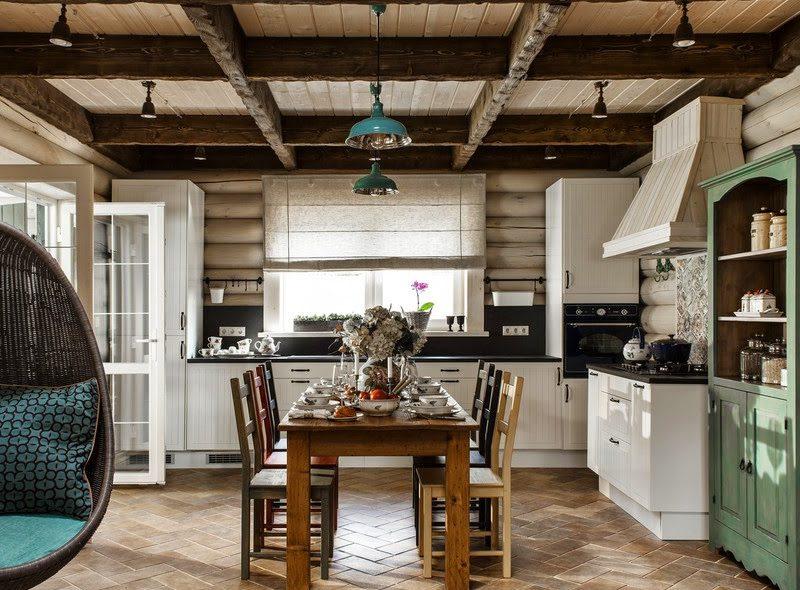 Скандинавский стиль деревянного дома