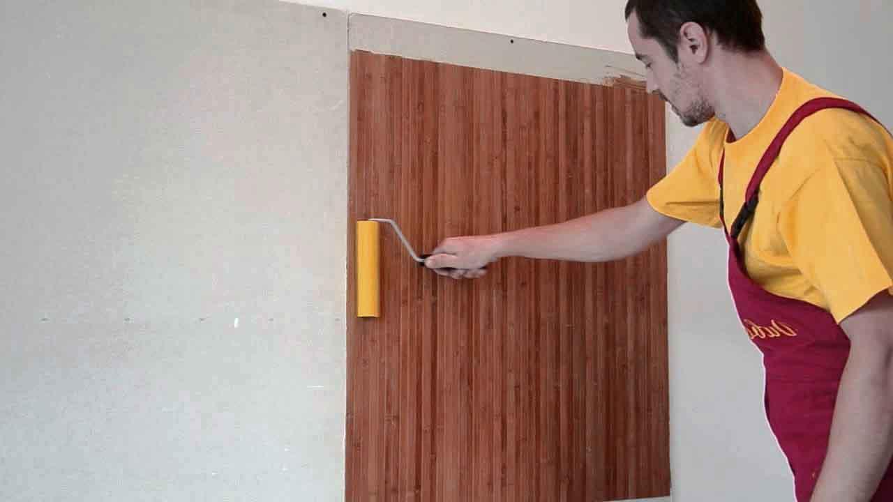 Технология наклеивания бамбуковых обоев