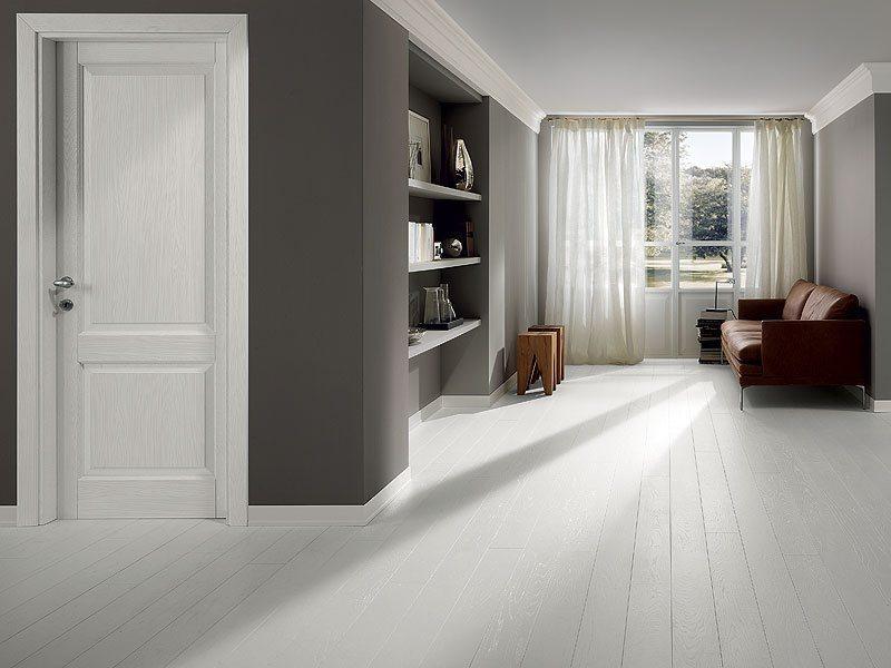 Универсальные межкомнатные белые двери