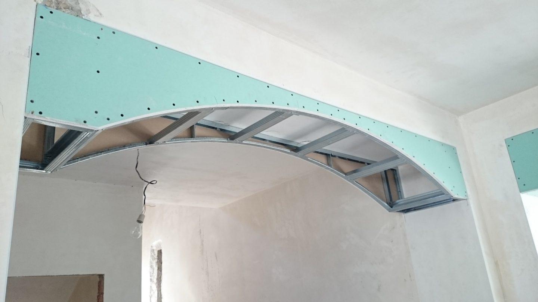 Фото и идеи по использованию арок из гипсокартона в дизайне интерьера